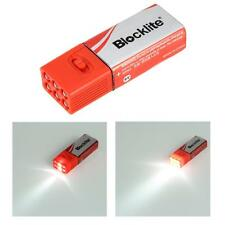 Super Bright Blocklite 9Volt LED Flashlight Mini Camping Light Compact Size M6T2
