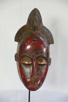 AQ9 Baule Maske alt Afrika / Masque baoule ancien / Tribal baule mask