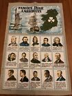 Famous Irish Americans Cloth Tapestry Decoration - Made In Ireland