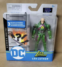 """Spin Master 2020 DC Heroes Unite 4"""" Action Figure 1st Edition - LEX LUTHER RARE"""
