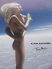 publicité de presse PARFUM THIERRY MUGLER  COLOGNE  en 2002  ref. 20138