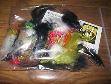 Collection of 33 assorted new and used Trout Lues