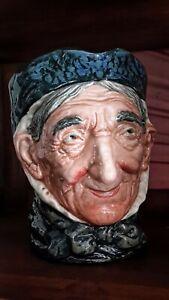 RARE as Granny's teeth! Royal Doulton TOOTHLESS GRANNY Character Jug D5521 1937
