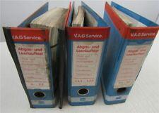 VW Datenblätter Abgasuntersuchung Motor KR DX  EG 2H DJ MV SR SS Golf T3