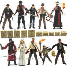 10pcs Indiana Jones WILLIE SCOTT TEMPLE GUARD OF DOOM Movie Figure Toy Xmas Gift