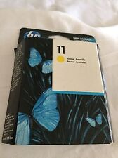 Genuine HP Ink 11 Yellow C4838A EXP 12/2011 New