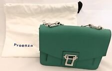 Proenza Schouler Hava Chain Green Leather Shoulder Bag NWT Purse