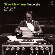 Karlheinz Stockhausen : Stockhausen: Kurzwellen CD (2018) ***NEW*** Great Value