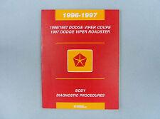 Body Diag. Procedures, '96-97 Viper, Airbag/Entry Mod./Veh. Comm., 81-699-96166