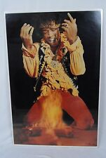 1991 Jimi Hendrix Poster #8135 Published/Distributed by OSP & Winterland Product