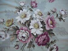 Beautiful unused vintage Sanderson linen union fabric - 2.7M long, 'Constantia'