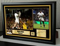 "Maro Itoje Rugby Union Framed Canvas Tribute Print Signed ""Great Gift"""