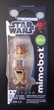 SOLD OUT NIB Mimobot Star War Jar Jar Binks 32GB USB LIMITED EDITION