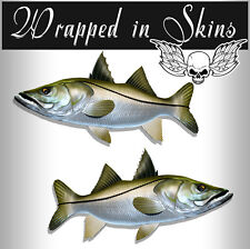 Fish Stickers Snook Decals Tackle Box Rv Decals Fishing Stickers Afp-0065