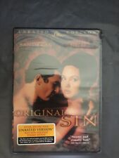 Original Sin DVD unrated version New Sealed