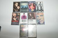 David Bowie Elton John Sun City Artists United + More Lot of 10 Cassette Tapes