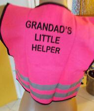 Kinder Warnweste mit Rückendruck für mehr Sicherheit auf Schulweg, Radweg  ...