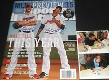 Michael Brantley Corey Kluber Indians Autographed Signed Sports Illustrated .