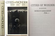 Cities of Wonder Damon Knight SIGNED anthology Heinlein 1st HC sci-fi NICE!