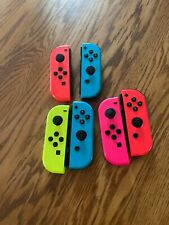 6 Nintendo Switch Joy-Con Controllers For Parts Not Working