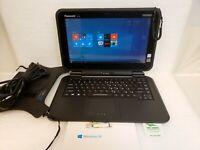 "Panasonic Toughbook Toughpad FZ-Q2 12.5"" M5 Vpro FHD 8GB 240 SSD Win 10 Keyboard"