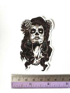SANTA CRUZ Zombie Girl Graffiti Sticker Bomb Cartoons Scary Skateboard Stickers
