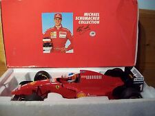 1/18 MICHAEL SCHUMACHER FERRARI 1996 LAUNCH VERSION CLOSED BOX