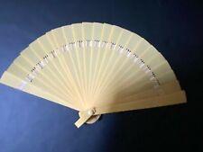 Vtg Celluloid/Plastic Hand Fan