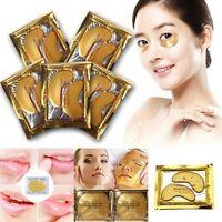 10X Gold Crystal Collagen Eye Mask Face Mask Lips Masks Hotsale Eye Patches