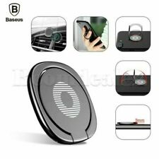 Baseus 360° New Metal Magnetic Finger Ring Stand Phone Holder For iPhone Samsung