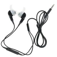Bose SoundSport Wired Headphones for Samsung Charcoal Black Used Good👌👌👌