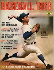 1966 Whitestone Baseball magazine, Sandy Koufax, Los Angeles Dodgers Good