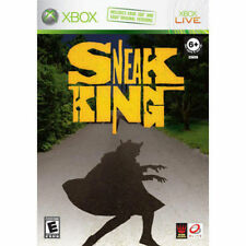 Sneak King XBOX 360 USED Complete Disk Great Condition FAST SHIP- X2-01