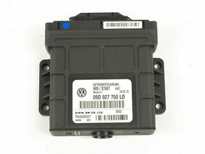 2007-2010 Volkswagen Touareg Control Unit for 6-Speed Gearbox 09D927750LD