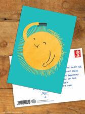 Funny Postcards Brainbox Candy 'Bad Hair Day' Cute Comedy Humour Novelty Joke