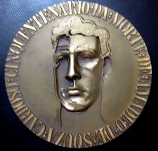 MODERNIST PAINTER AMADEO SOUZA CARDOSO 79 mm 1968 BRONZE MEDAL by Rodrigues N110