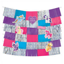 MY LITTLE PONY Friendship Adventures FRINGE BACKDROP ~ Birthday Party Supplies