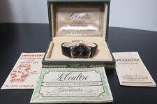 .*Vintage Rare 1958 Jaeger LeCoultre Futurematic GP Automatic Watch Box & Papers