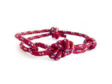 Mens Yoga Bracelet Red Matching Couples Love Friendship Jewelry Rope Knot Cuff