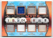 2018 ITG Mickey Mantle Banks Munson Mays Berra Williams 8 Piece Jersey #10/20