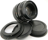 ⭐SERVICED⭐ HELIOS 44m Lens Canon EF Mount Rebel XS T2i T3 T4i T5 T6 T6i T6s T7i
