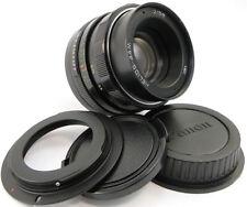 ⭐SERVICED⭐ HELIOS 44m Lens Canon EF Mount Rebel XS T3 T4i T5 T6 T6i T6s T7i