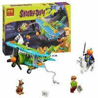 127pcs Scooby Doo Series Mystery Plane Adventures Building Blocks Kid Toys 10429