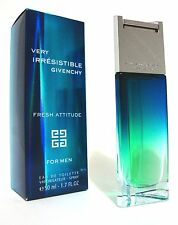 GIVENCHY VERY IRRESISTIBLE FRESH ATTITUDE MEN PERFUME EDT 50ML SPRAY 1.7 OZ NIB