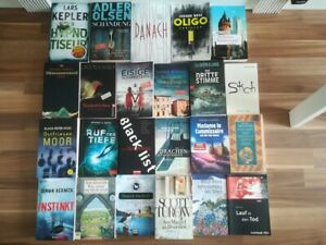 ★ 23 Stck. - Bücher-Paket / Konvolut ★ Krimi/Thriller ★ TB