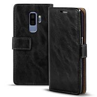 Handy Tasche für Samsung Galaxy S9 Plus Flip Cover Case Schutz Hülle Wallet Etui