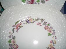 "3 WEDGWOOD ORIENT WELLESLEY SQUARE LUNCHEON PLATES 8 1/2"", EXC"