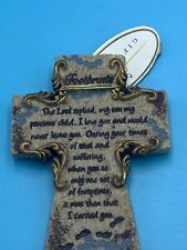 """Giftcraft 3"""" X 2"""" Fridge Magnet Footprints Religious Magnet"""