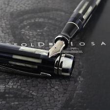 Parker Doufold Mosaic Centennial Fountain Pen Black - M