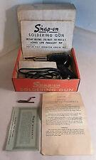 VINTAGE SNAP-ON USA R250 SOLDERING GUN IRON 120V 250 WATT HEAVY DUTY W/BOX